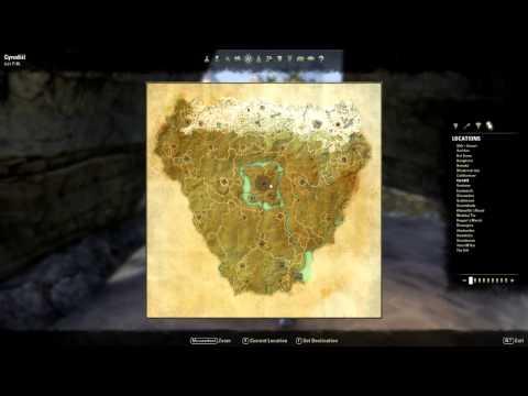 Map Overview - The Elder Scrolls Online Beta | 720p