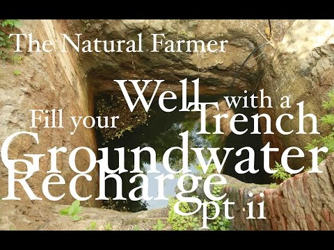 John Kaisner The Natural Farmer - Tropics - #9.1 pt ii Fill your Well - Groundwater Recharge