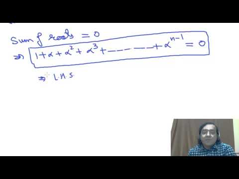 #15 Complex Number  IIT JEE Maths Lectures-nth Roots of unity