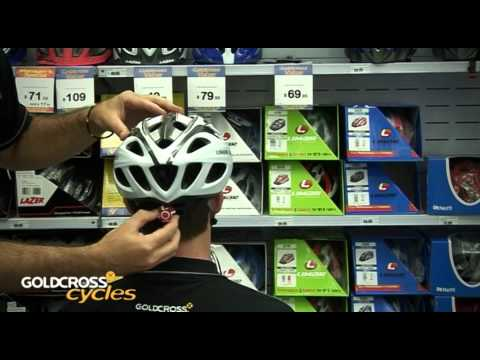 How to correctly fit a bike helmet