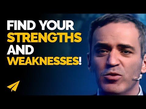 Know your STRENGTHS and WEAKNESSES - Garry Kasparov (@Kasparov63) - #Entspresso