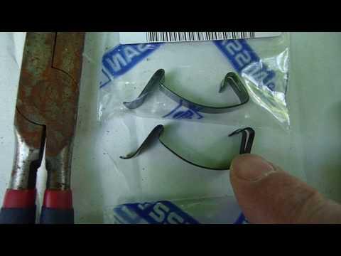 PT Cruiser Air Filter HOUSING Clip FIX ... using Nissan Clip