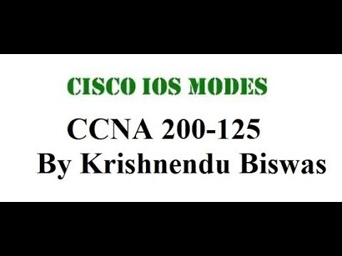 Types of Cisco Router and Modes Of Cisco Router..