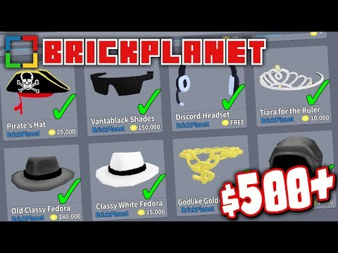 BUYING EVERY ITEM IN THE BRICK PLANET STORE!! *OVER $500 WORTH!*