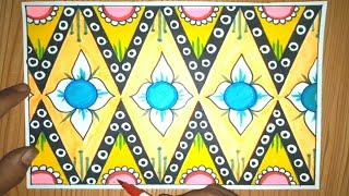 Cara Membuat Batik Pola Sederhana Mudah Walaupun Buru Buru