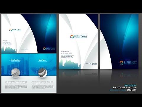 Create a Business Brochure Photoshop Tutorial