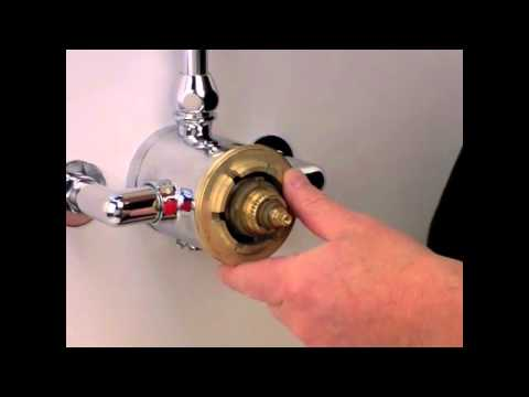 Dual Type Shower Valve Cartridge Exchange Replacement | How To