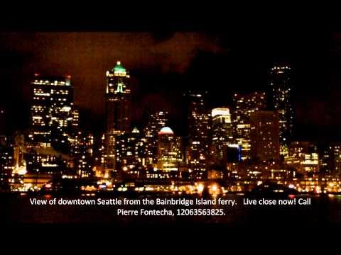 Bainbridge Island Ferry view of Seattle. Live close now, email: info@pierrefontecha.com