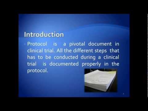 PROTOCOL FOR CLINICAL RESEARCH