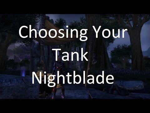 [ESO] Choosing Your Tank: Nightblade