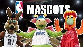 All 30 NBA Team Mascots Ranked