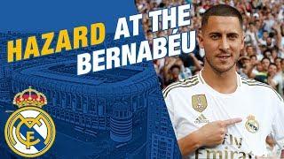 LIVE | Eden Hazard takes to the Bernabéu pitch!