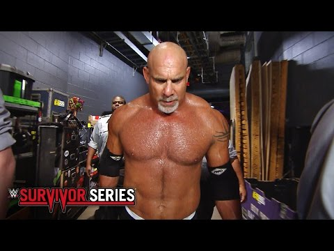 Goldberg's epic entrance: WWE Survivor Series 2016