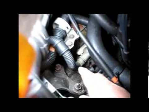How to crank a Honda from under the hood