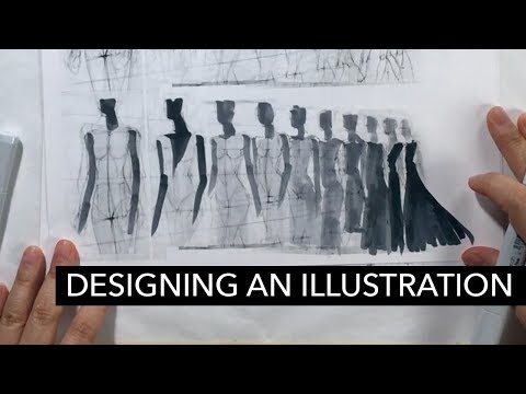 How to Design & Compose a Fashion Illustration