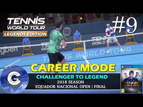 Let's Play Tennis World Tour | Career Mode #9 | TWO IN A ROW?! | Tennis World Tour Career Mode