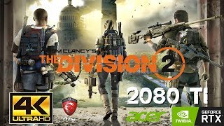 Tom Clancy's The Division 2 2080Ti fps Videos - 9tube tv
