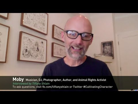 Character Day Interview with Moby, Musician, Activist
