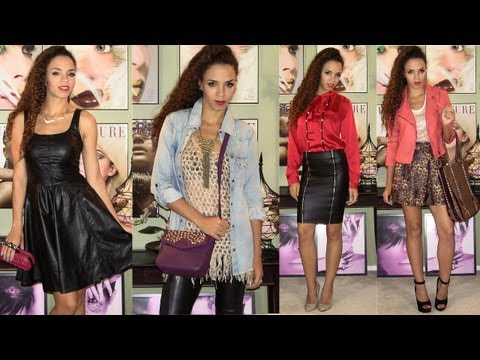 How To Wear Leather - 10 Outfits with Leather Jackets, Pants, Skirts, Dress, Boots