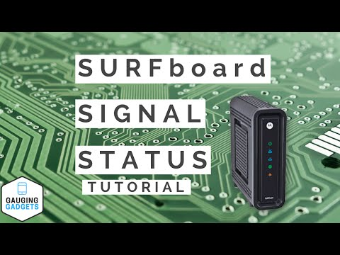 How To Check SURFboard Signal Status - Internet Troubleshooting and Fix