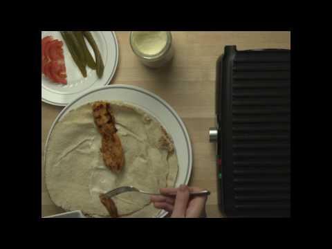 How to Make a Shish Tawook Pita