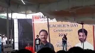 Celebrating Teacher