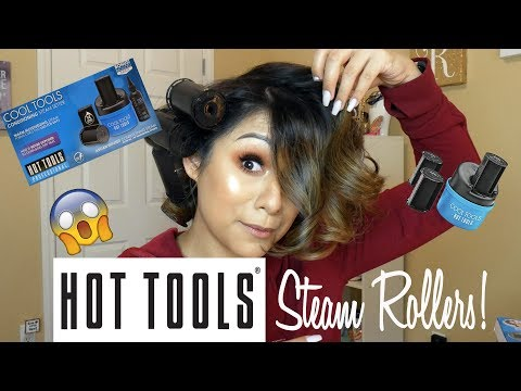 HOT TOOLS STEAM ROLLERS! Does it Work?