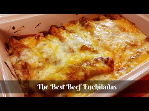 The BEST Beef Enchiladas Recipe - How to Make Enchiladas ~ Amy Learns to Cook