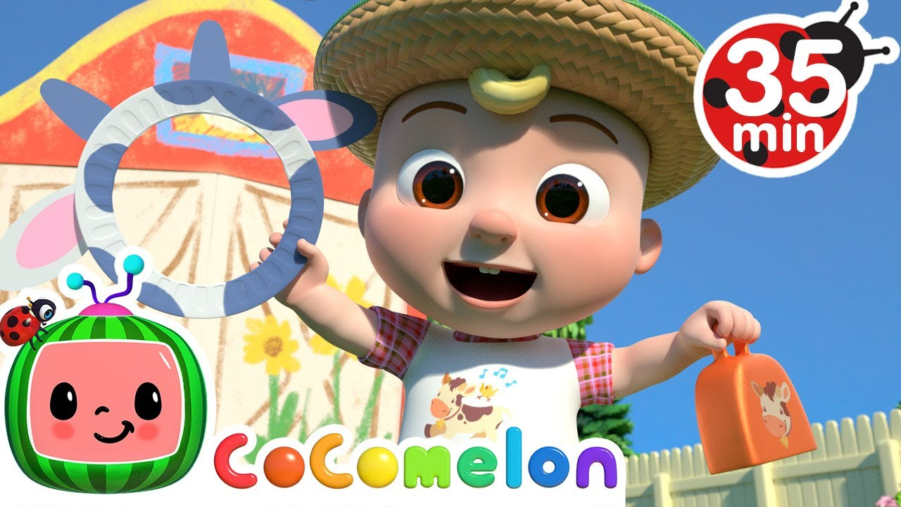 Old Macdonald Song + More Nursery Rhymes & Kids Songs - CoComelon