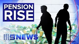 Country's pensioners to get pay rise within weeks   Nine News Australia