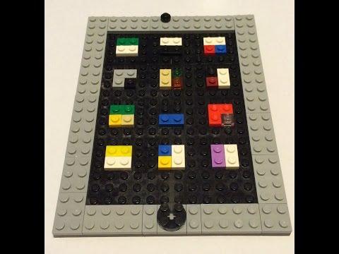 How to make a Lego iPad
