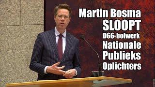 Martin Bosma sloopt de Publieke Omroep