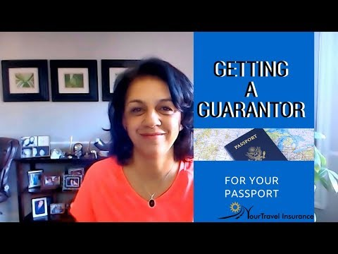 Getting a Guarantor for Your Passport