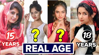 Shocking Age of Top 15 Youngest Actresses | Grown Up Tv Actress Real age | Jannat Zubair