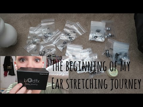 The Beginning of my Ear Stretching Journey! | Alyssa Nicole