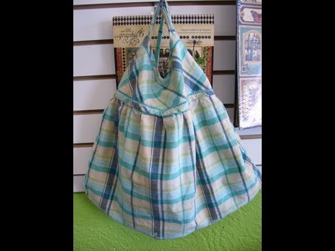 Easy Sewing Tutorial How to Make Purse Bag Using Daughter's Gap Shirt