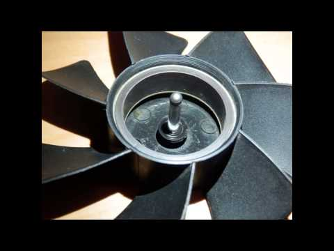 How to repair a noisy PC fan