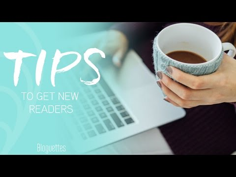 5 Ways To Get New Readers To Your Blog