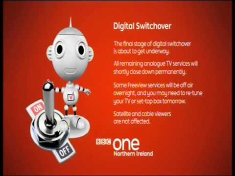 Analogue switch off in the UK - BBC Northern Ireland 23 Oct 2012