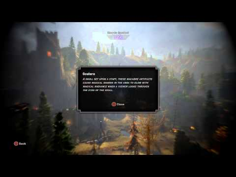Dragon Age: Inquisition - Shards in the Hinterlands: Ocularum Details (4/4 Shards Spotted Tutorial)