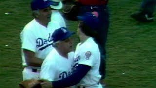 WS 1981 Gm4: Howe gets the final out to even series
