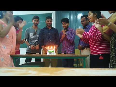 Birthday Celebrations in Vikram Deb Autonomous college jeypore