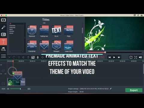 Easily Create Stunning Intros In Movavi Video Editor