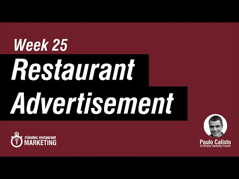 How to Create a Restaurant Ad