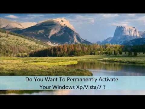 Permanently Activate Your Windows XP/Vista/7
