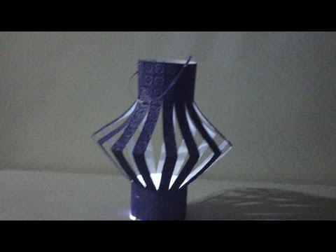 Diwali Decoration Ideas : How to make Diwali Lantern at Home | Paper Lanterns Very Easy