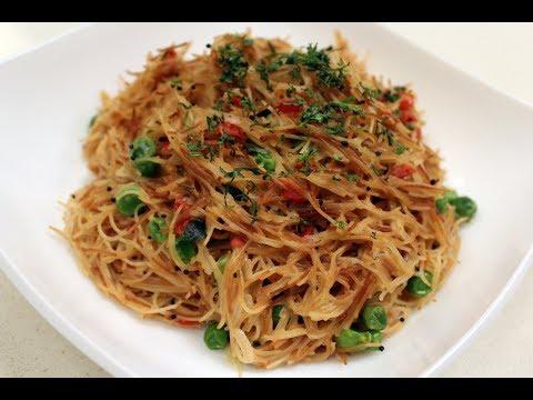 Vermicelli Upma   Breakfast recipes   Sanjeev Kapoor Khazana