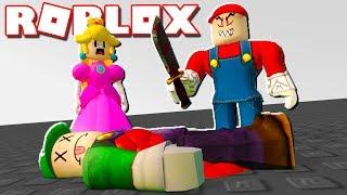 Roblox Adventures - EVIL MARIO KILLED LUIGI IN ROBLOX! (Weegepies Place)