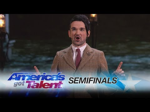Colin Cloud: Mind Reader Predicts Your Tweets - America's Got Talent 2017