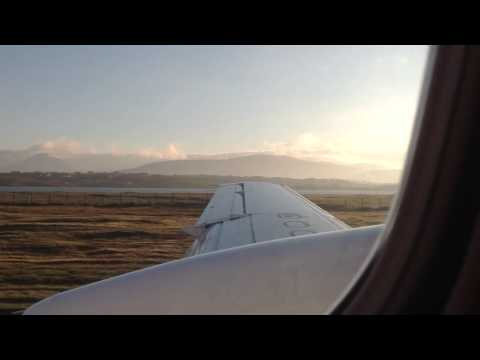 Flybe Saab 340 landing in Donegal